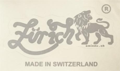 Zürich Aufkleber, transparenter Träger